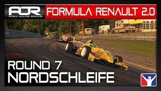iRacing | AOR Formula Renault 2.0 | S10 | R7: Nürburgring Nordschleife