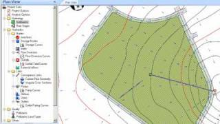 Civil 3d sizing detention ponds in storm and sanitary analysis for Pond design in civil 3d