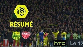 FC Nantes - Dijon FCO (3-1)  - Résumé - (FCN - DFCO) / 2016-17