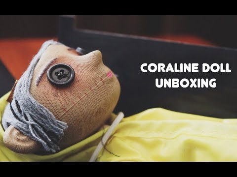 Coraline Doll Unboxing!