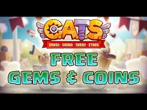 How To Get Free Gems in CATS Crash Arena Turbo Stars Hack Unlimited Gems &  Coins iOS Android