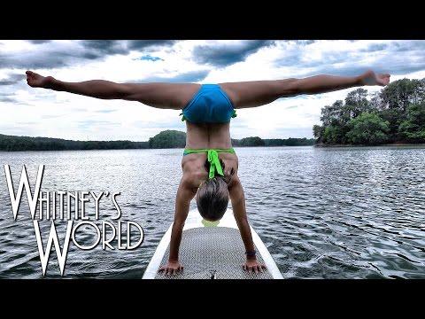 Gymnastics on a Paddle Board | Whitney Bjerken
