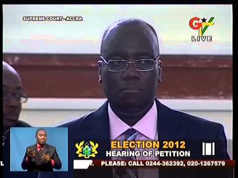 Reaction in Ghana's Supreme Court on Final Adjournment (14-8-13)