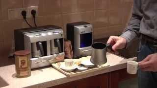 Варим кофе по-турецки  в кофеварке(Описание кофеварок, которые варят кофе по-турецки -- аналогично традиционной варке в турке. Рассматриваются..., 2010-09-06T08:40:38.000Z)