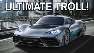 THE MERCEDES PROJECT ONE IS A $2.7 MILLION F**K YOU TO MCLAREN!!!