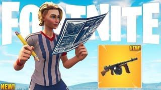 Playground Mode Out Today?! & New Legendary SMG (Coming Soon) - New Fortnite Battle Royale Update