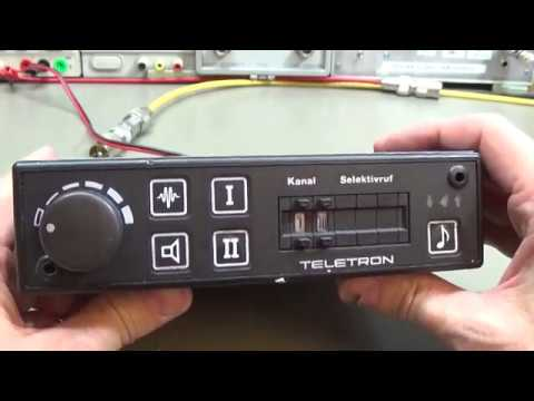 #151 Teletron radio T-8800 PLL modification for new frequency assignment