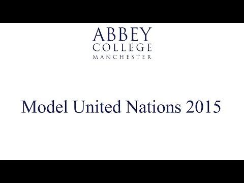 Model United Nations Debate 2015