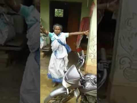 Indian old women funny dunce video