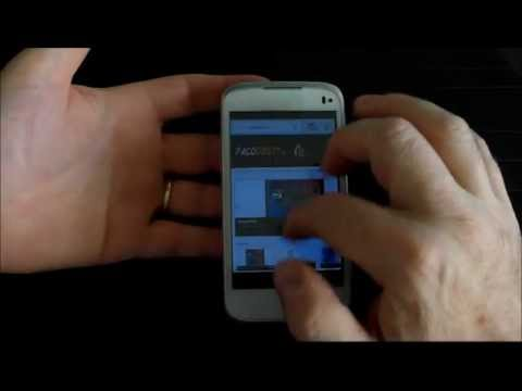 Alcatel OneTouch 997d : videoprova