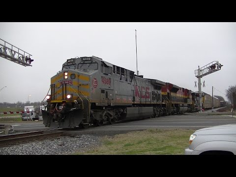 HD: Railfanning KCS Vicksburg Subdivision in Shreveport, LA