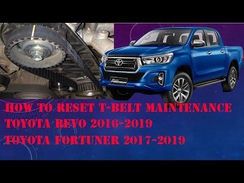 Toyota Dyna /Landcrusier T-belt light reset | FunnyCat TV