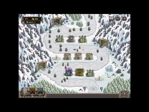Kingdom Rush HARD DIFFICULTY- Coldstep Mines IRON CHALLENGE On IPad