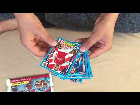Match attax !! 2 pack openings