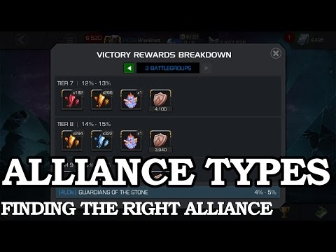 Alliance Types and How to Find an Alliance | Marvel Contest of Champions