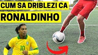 CUM SA DRIBLEZI CA RONALDINHO | 5 SCHEME DE FOTBAL | IMPROVED FOOTBALL