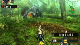 【MHFU】Narga Cuga ~Nekoht~Light Bow Gun,Crag Bullets Only.