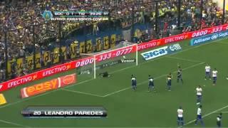Gol de Paredes | Boca 1-1 Tigre Torneo Inicial Fecha 15