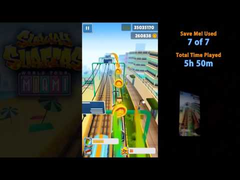 Subway Surfers high score 51,182,650 (Better than hackers!)