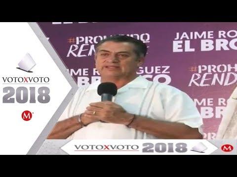 El Bronco reconoce derrota y desea éxito a AMLO
