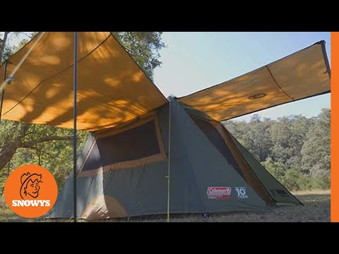 Coleman Instant Up tent - How to setup in 2mins & Coleman Instant Up tent - How to setup in 2mins - YouTube
