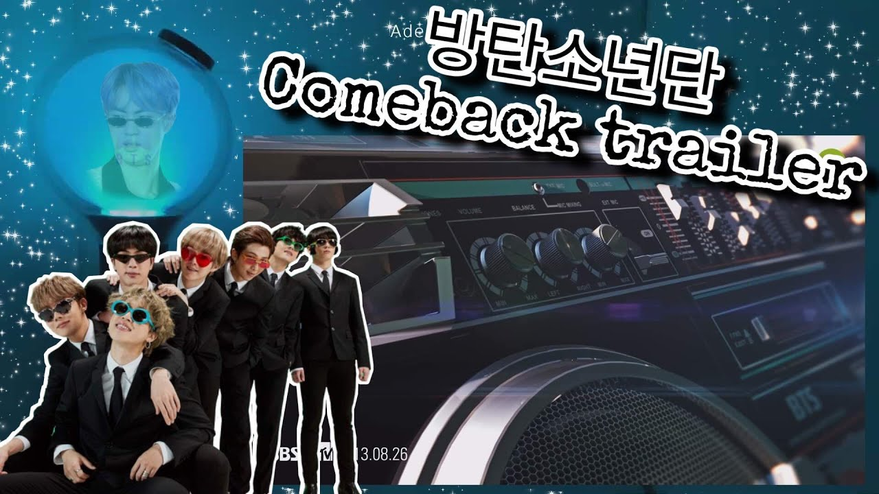 #57 Army bomb MOTS connected to '방탄소년단 Comeback trailer'