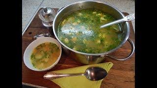 Картофельный суп с клецками суп рецепт вкусный суп Potato soup with dumplings