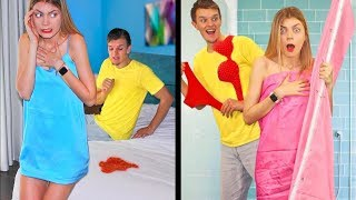 COUPLE PRANKING FOR A WEEK! Funny DIY Prank on Friends