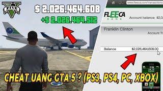 CHEAT UANG GTA 5 ! WOW LANGSUNG DAPAT UANG 2 MILYAR (WORK PS3 PS4 PC XBOX360/ONE) | STOCK MARKET