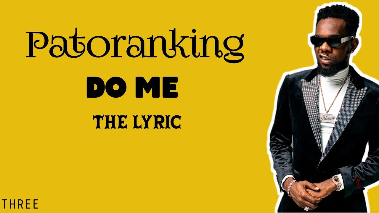 Patoranking Nobody The Lyrics Youtube See more of patoranking album songs& lyrics on facebook. patoranking nobody the lyrics youtube