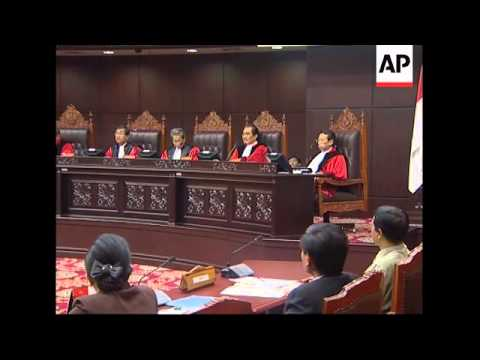 Court rejects Bali bombers claim that execution by firing squad unconstitutional
