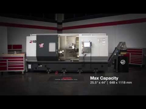Haas ST-40 CNC Lathe Demo