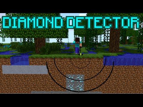 Minecraft DIAMOND DETECTOR ! ( NO MODS ! )