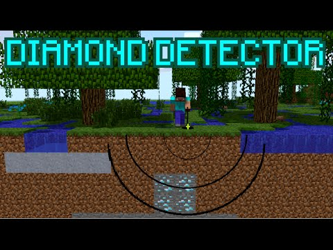Minecraft DIAMOND DETECTOR ! ( NO MODS ! )