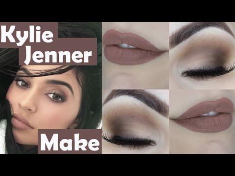 Makeup Tutorial Kylie Jenner para Iniciantes - Tutorial de Maquiagem Básica Cara de Rica