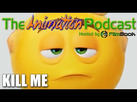 THE EMOJI MOVIE Teaser Trailer Reaction- The Animation Podcast HIGHLIGHTS