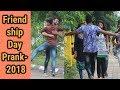 FRIENDSHIP DAY PRANK 2018 | giving a Hug Prank by Robin Jindal | Comedy Video | Oye Indori