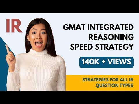 Manhattan GMAT : Integrated Reasoning Speed Strategy