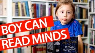Scientist Study 5 Year Old With Telepathy!?