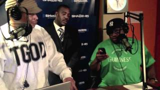 Scarface freestyles on #SwayInTheMorning