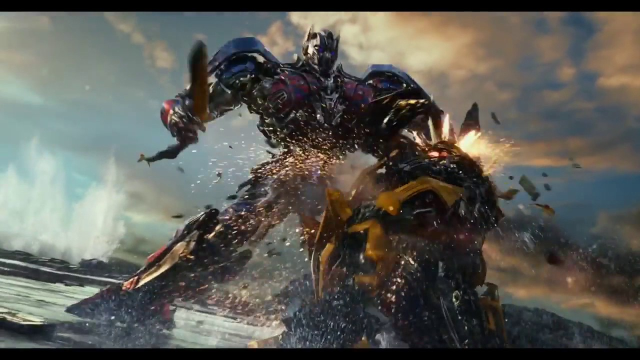 Transformers 5 Optimus Prime Vs Bumblebee Official Trailer