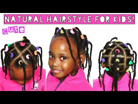 Kids Hairstyle For School Very Cute And Simple