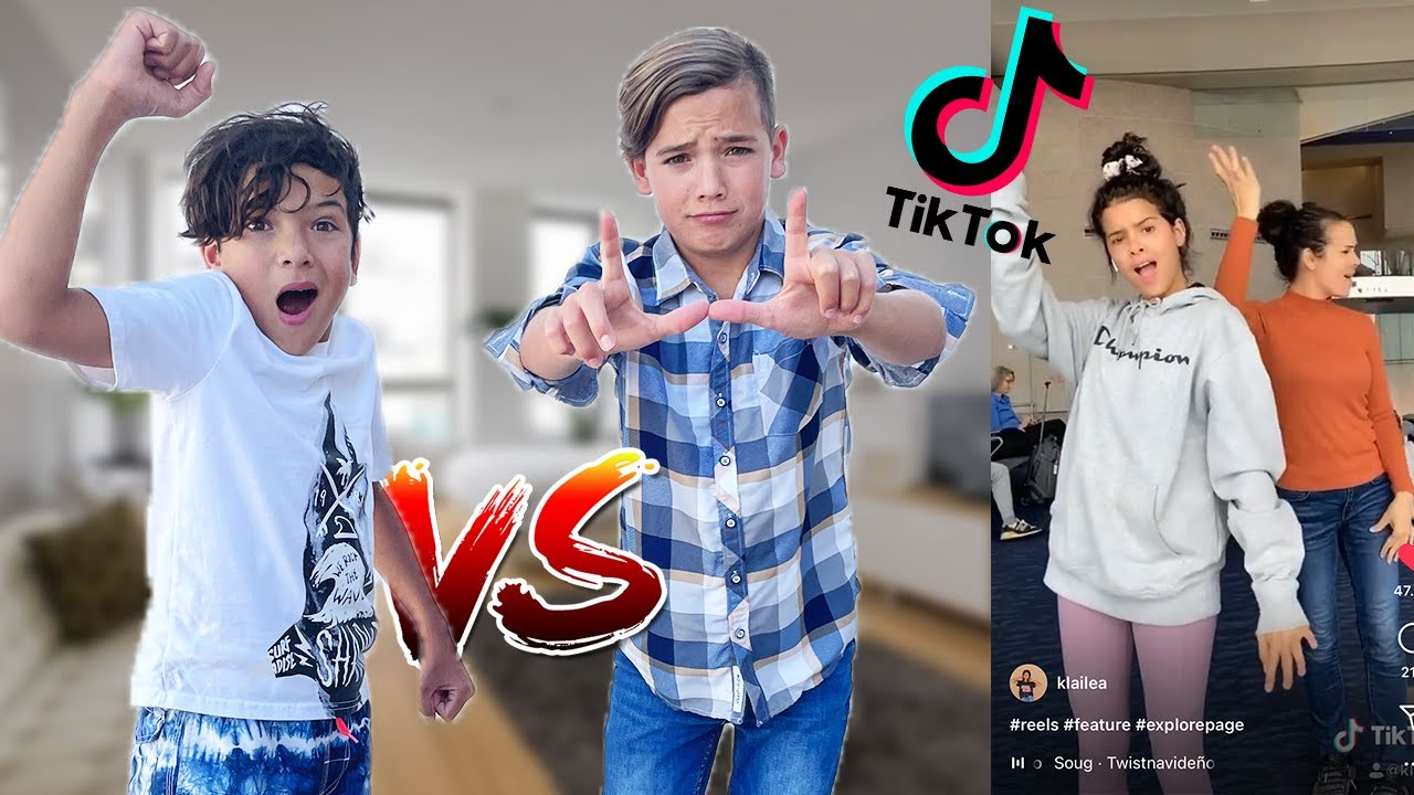 WHO Can Recreate Klailea's Tik Tok Video's Better?