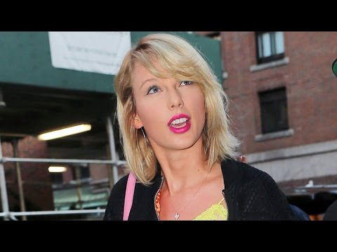Taylor Swift Rocks a Bright Leggy Look in NYC as Tom Hiddleston Films in Australia -- See the Pic!