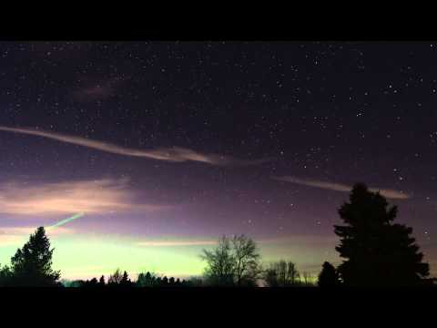 Aurora Timelapse 11-14-12 From West Michigan