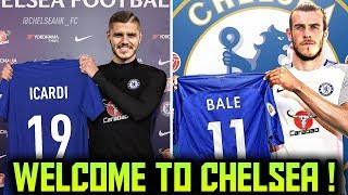 CHELSEA TRANSFER NEWS | TOP 10 Chelsea Transfer Targets 2018 ft Bale Icardi Lewandowski
