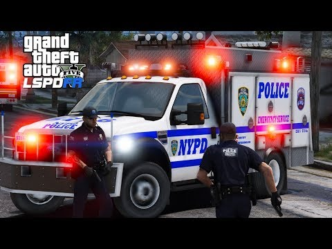 GTA 5 LSPDFR #535 | NYPD Emergency Service Unit Live Stream | Responding To Serious Calls In NYC