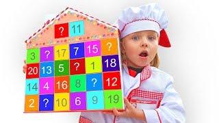 Алиса учится готовить сладости к празднику