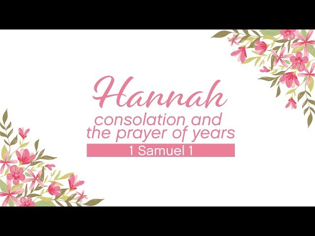 May 13, 2018: David and Elizabeth Chotka - Hannah's Prayer (Mother's Day)
