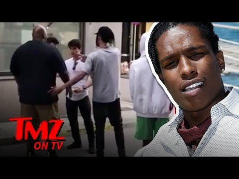 A$AP Rocky Arrested In Sweden For Aggravated Assault   TMZ TV
